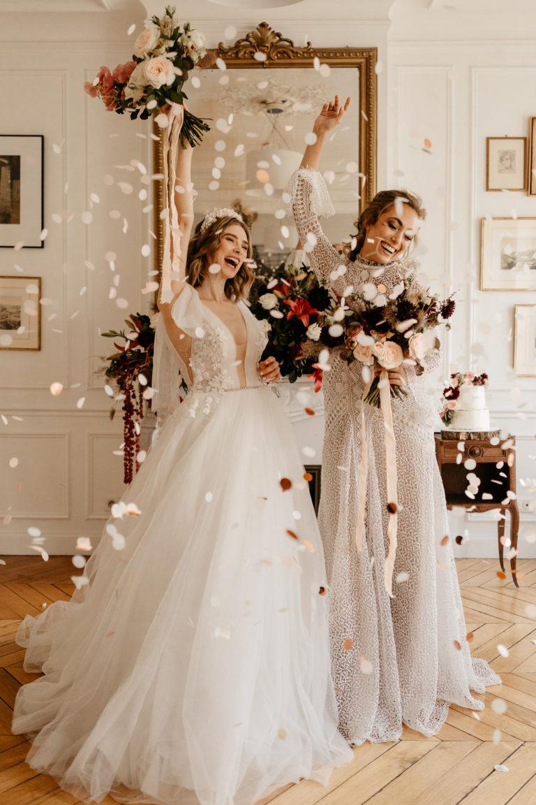 Paris Elopement LGBT wedding photographer