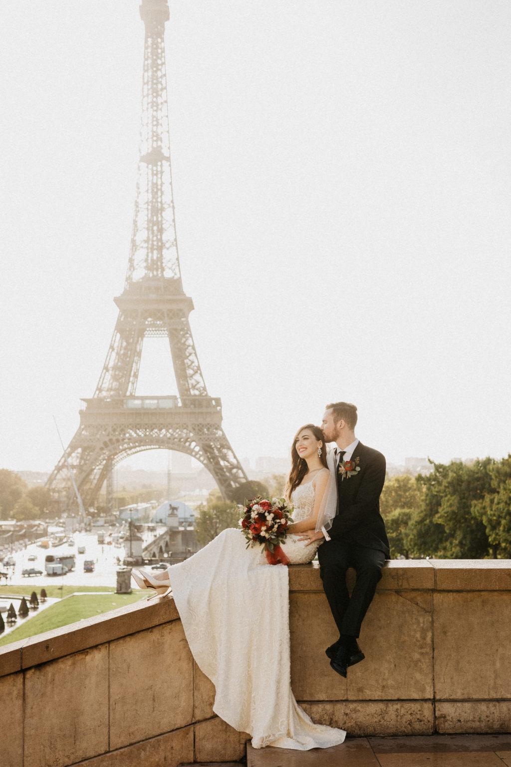 Eiffel Tower in Trocadéro