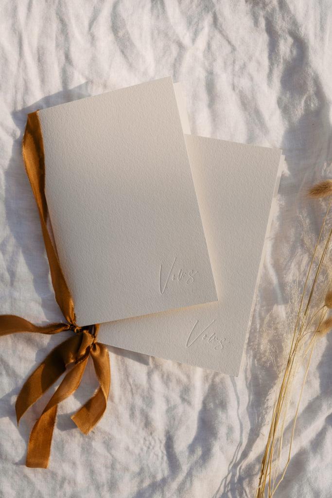 Vow books for your paris elopement