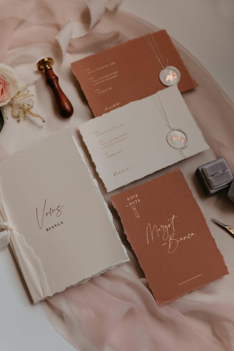 Vows book paris elopement
