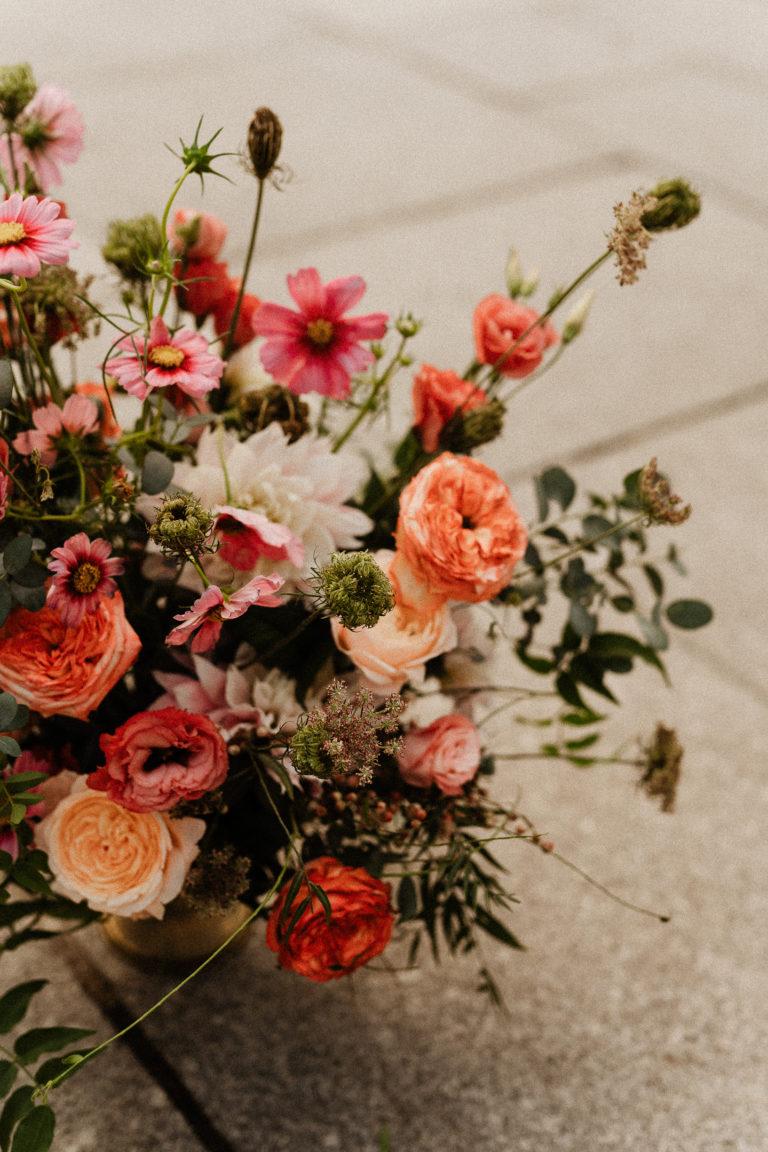 Floral decoration for your paris elopement