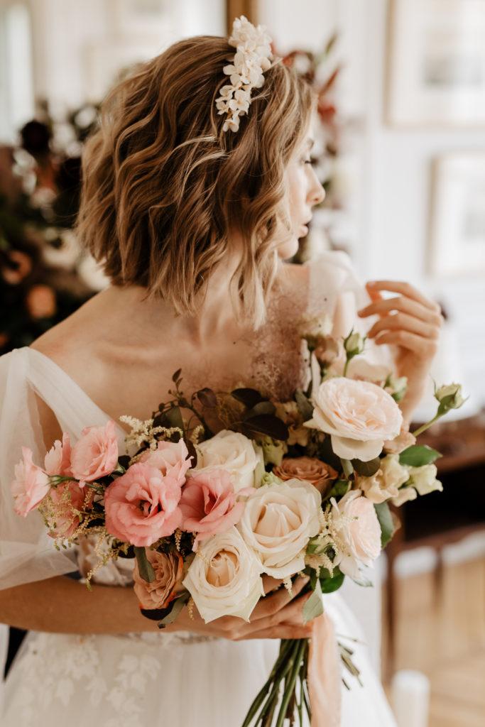 Floral decoration for paris elopement