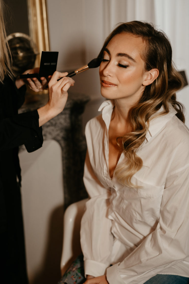 preparation make up artist bride paris