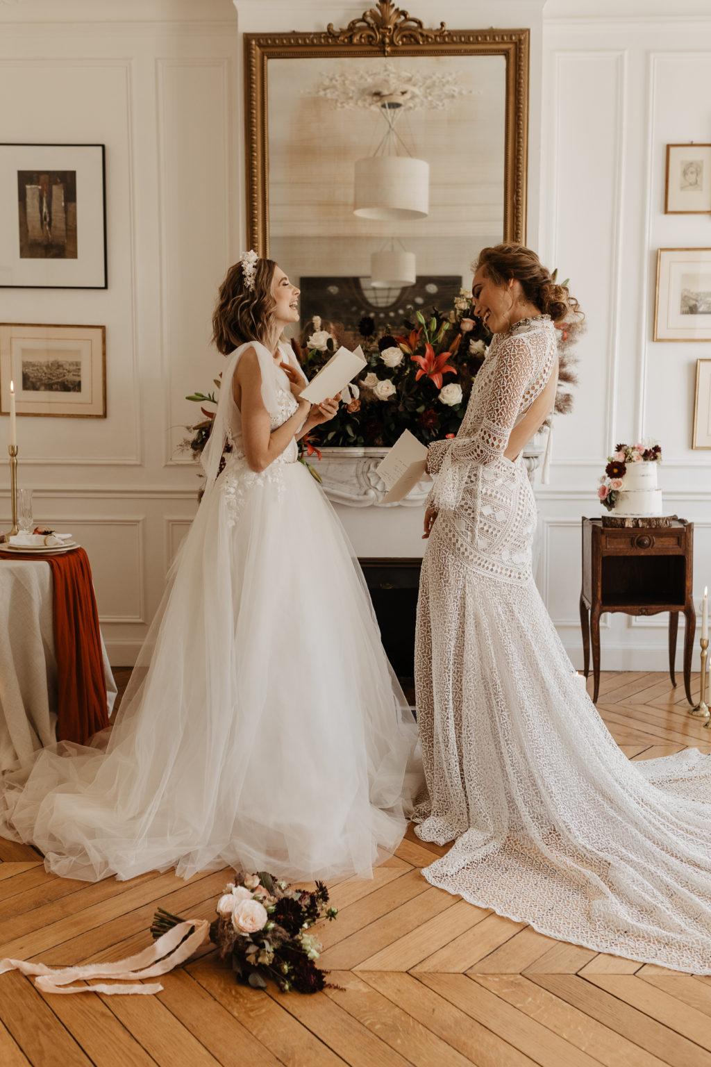 Paris Romantic indoor elopement