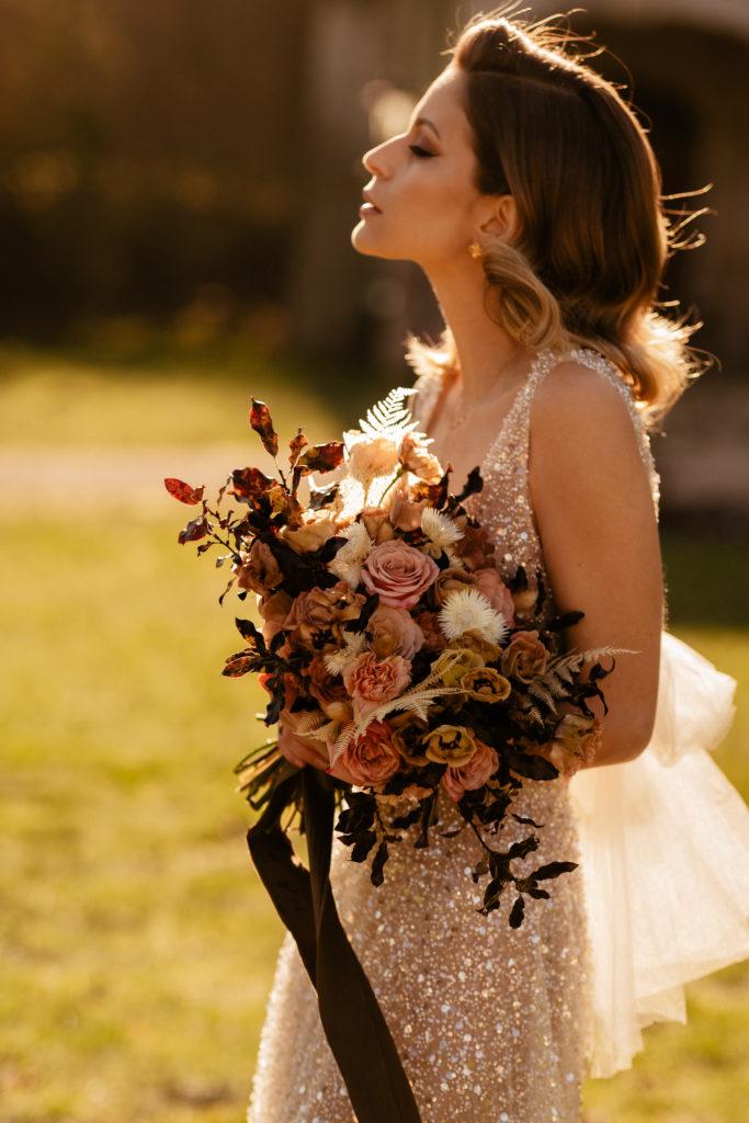 Beautiful bride elopement wedding